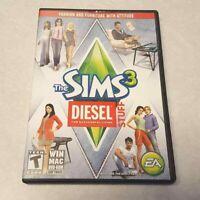 The Sims 3 Diesel Stuff Pack Successful PC/MAC Game DVD-ROM Complete Serial Key