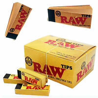 Raw Rolling Filter Tips Roaches roach Paper Card booklets roach Originals Filter