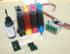 Compatible CISS Ink System fits with Epson BX935FWD SX525WD SX535WD W/50ml black