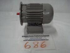 ElectroMotorenwerk Brienz motor 947963, .37kw, 1670, 71B5 frame, 440V, TEFC, 3ph