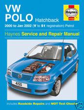 Haynes Manual Volkswagen Vw Polo 2000-2002 4150 Nuevo