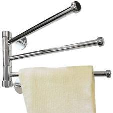 Porte-serviettes en métal pour la salle de bain