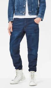 NEW G Star Arc 3D Tapered Jeans Mens Size W29, W30, W31, W32, Blue RRP $220