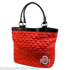 Ohio State Buckeyes Quilted Tote Purse Bag
