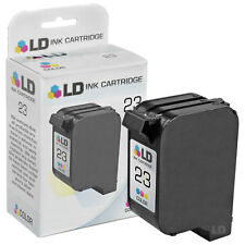 LD Remanufactured Replacement for HP 23 / C1823D Tri-Color Ink Cartridge
