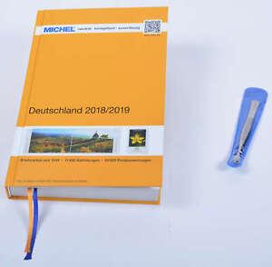 MICHEL Deutschland Katalog 2018/2019 plus Gratis Briefmarken Pinzette Schaufel