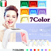 7 Color LED Light Photon Face Neck Mask Rejuvenation Skin Facial Therapy Wrinkle