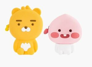Kakao Friends Little Friends Silicone Standing Pouch Make Up Travel Pouch
