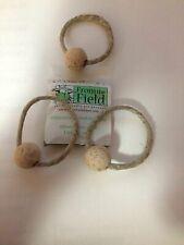 From The Field Hemp Rope Cork Ball Cat Toy Organic Catnip Sammy Saturn
