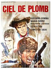 Affiche 120x160cm CIEL DE PLOMB 1969 Giulio Petroni, Giuliano Gemma - Western #
