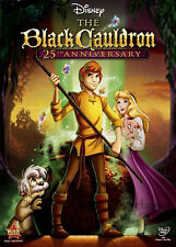 Disney Epic Animated Mystical Sorcery Magic Fantasy Film The Black Cauldron DVD