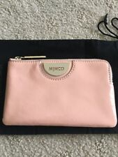 MIMCO BNWT Echo Small Pouch Clutch Wallet Bag Orange Sorbet
