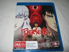 Berserk - The Golden Age Arc II 2 - ANIME - New Sealed Blu-Ray - Region B