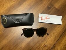 Vintage B&L Ray Ban W1594 Style 2 Round Tortoise Traditional Sunglasses