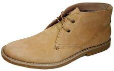 Original Penguin Men's Shoes Birdie Crepe Tan Leather Mid Boot Boots Size 9 New