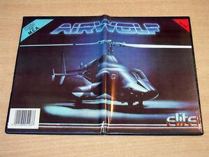 BBC Model B Disc - Airwolf by Elite