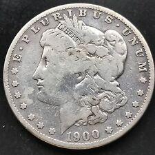 USA 1900 S Morgan Dollar Silber San Francisco Selten Better Date 4778