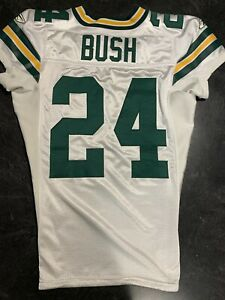 Jarrett Bush Game Worn Jersey Green Bay Packers Used Super Bowl XLV Matched
