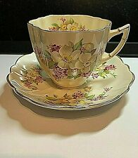 More details for vintage fine bone  china cup and saucer    victoria china     - beautiful