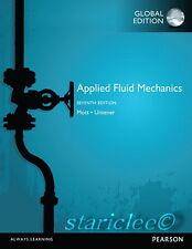 NEW 3 Days AUS Applied Fluid Mechanics 7E Robert L. Mott Untener 7th Si Edition