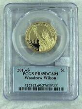 2013 1$ WOODROW WILSON-DCAM -HC-70