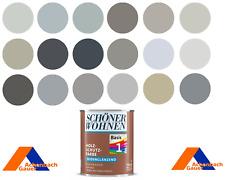 Holzschutzfarbe, Außenfarbe, hellgrau, dunkelgrau, grau, RAL, Schöner Wohnen 750