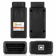 USB diagnóstico Interface OBD escáner 1.4 pasoft TV free para bmw 3er 5 7er codificar