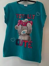 Girls green tshirt top Me To You Totally Cute age 12-13 years George