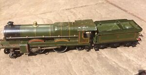 Hornby O Guage Electric Locomotive 'Caerphilly Castle' With Tender Pre War