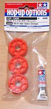Tamiya 54808 G6-01 Idler Gears (Orange) (G601/Konghead/King Yellow), NIP