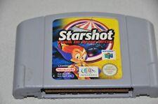 N64 Nintendo 64 jeu module-starshot-panique au space circus