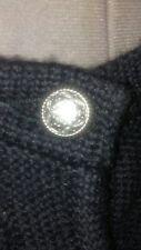 Trachten Dirndl  ALPENTRAUM black and dark green WOOL knitted sweater 38/10