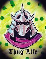 Shredder Teenage Mutant Ninja Turtles cartoon movie decor wall art print.