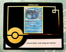 1 X Vaporeon Blister Promo - Code Card - Messaged/Emailed FAST!!!