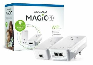 Devolo Magic 1 - WiFi - LAN - Powerline Speed: Up to 1200Mbps Adapters