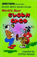 Clown Gags Book By Clettus Musson - 64 Page Illustrated - US Seller