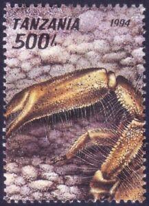 Tanzania 1994 MNH no Gum, Scorpion (Hadogenes sp.), Insects