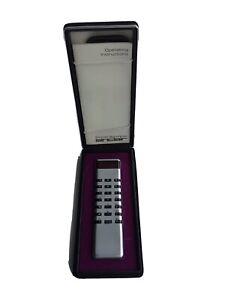 Sinclair Calculator Sovereign