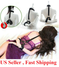 Adult Couple Mouth Neck Collar Hand Cuff Wrist Bondage Body Restraint Love Toy