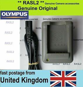 Genuine Olympus Charger BCS-5 BLS-5 PEN E-PL8 E-PL9 OM-D E-M10 STYLUS 1 E-PM1