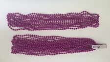 16 Hot Pink Mardi Gras Beads Necklaces Party Favors