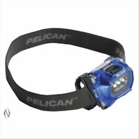 Pelican 2740 LED Blue Headlamp + 66 Lumens + Warranty + Batteries + Free Postage