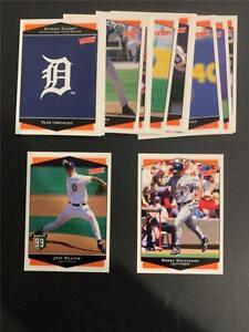 1999 Upper Deck Victory Detroit Tigers Team Set 14 Cards