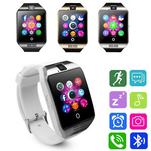 Bluetooth Smart Watch Phone SIM GSM Call For Samsung S7 Plus S10 S20 Note 10 9 8