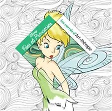 Disney Fairy French Adult Colouring Book Fairies Fairytale Tinkerbell Princesses