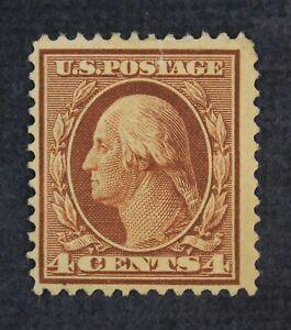CKStamps: US Stamps Collection Scott#334 4c Washington Mint HR OG