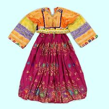 BellyDance Tribal DRESS Kuchi Afghan (sz 4) 782a1