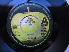 "JOHN LENNON -DEMO ''Stand By Me / Move Over Ms. L--U.K. 7""  Apple R6005--Beatles"