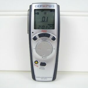 OLYMPUS HANDHELD PC LINK DIGITAL VOICE RECORDER - VN-120PC - TWO HOURS