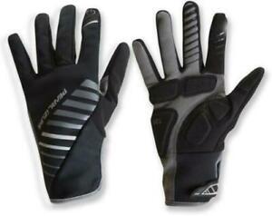 Women's Bike Gloves Pearl Izumi Cycling Elite Cyclone Gel Black/Grey Small New